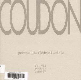 Coudon   Lerible, Cédric. Auteur