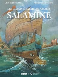 Les grandes batailles navales T.10 : Salamine | Delitte, Jean-Yves. Auteur