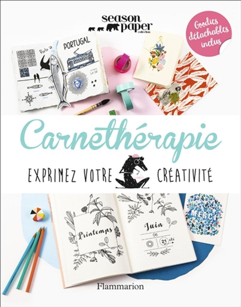 Carnethérapie : Exprimez votre créativité | Vendittelli, Marie. Auteur