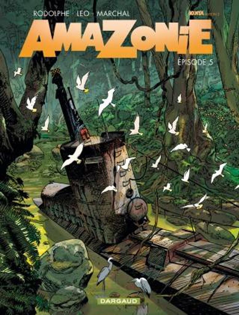 Amazonie T.05 | Léo. Auteur
