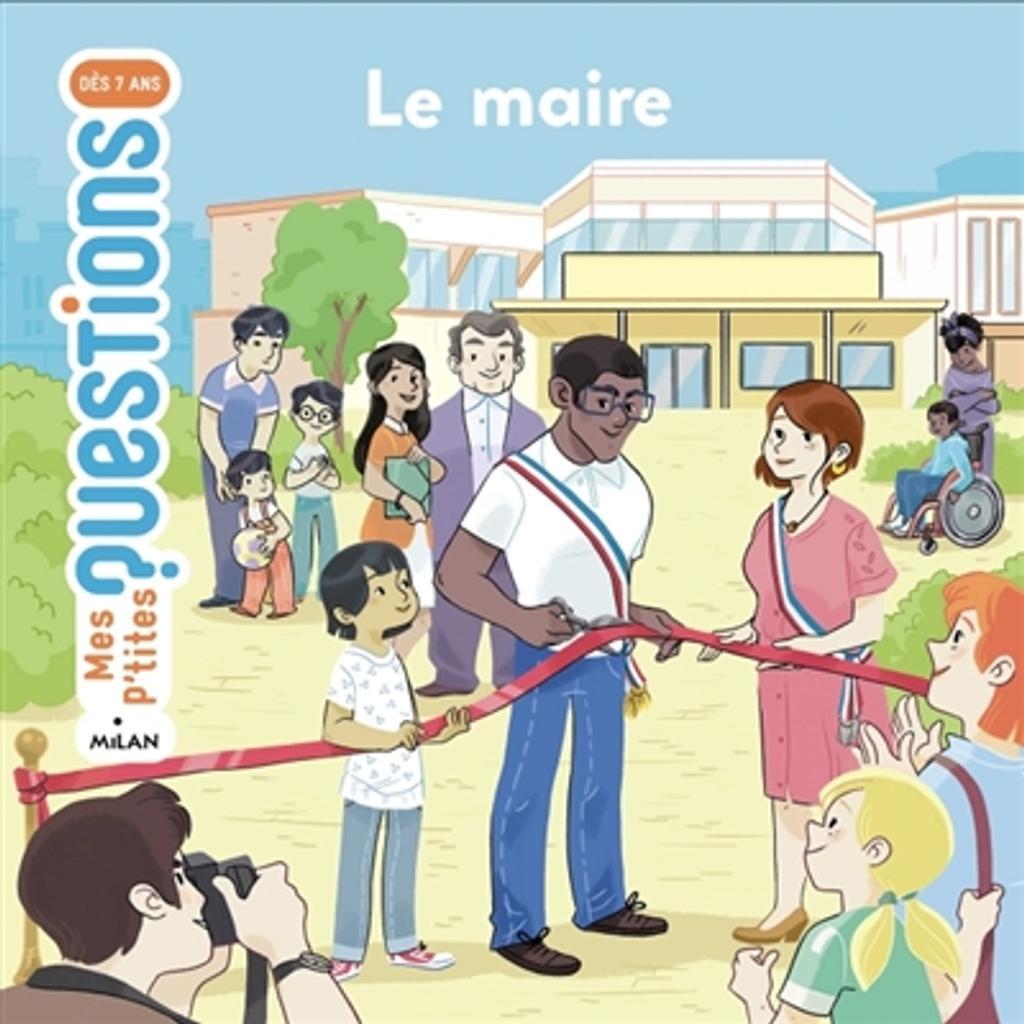 Le maire   Laboucarie, Sandra. Auteur
