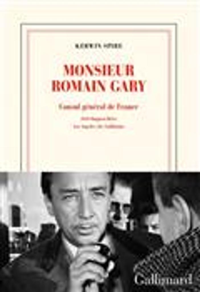 Monsieur Romain Gary : consul général de France : 1919 Outpost drive Los Angeles 28, California   Spire, Kerwin. Auteur