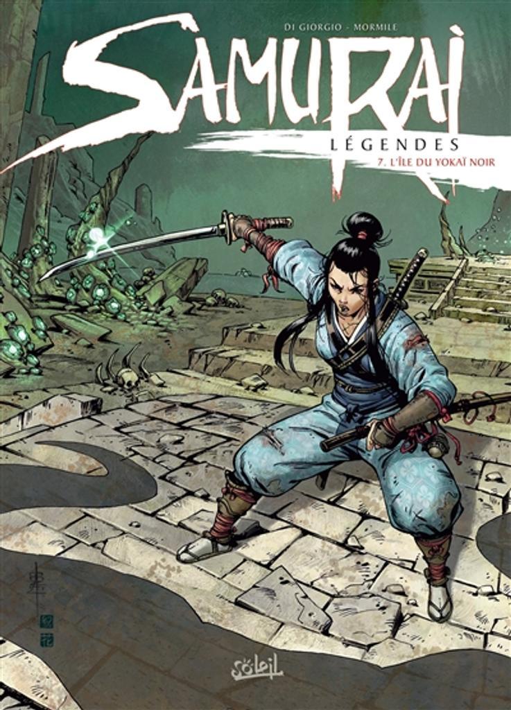Samurai légendes T.07 : L'île du yokaï noir  | Di Giorgio, Jean-François. Auteur